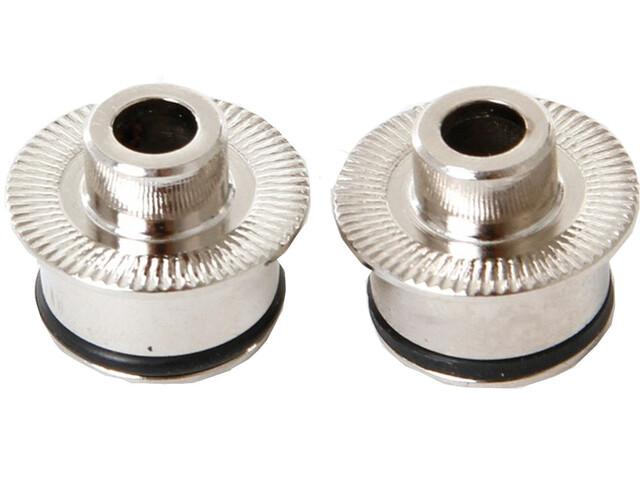 Fulcrum Kit adapteurs roue avant - roue avant 9 mm dispositif de fixation rapide argent